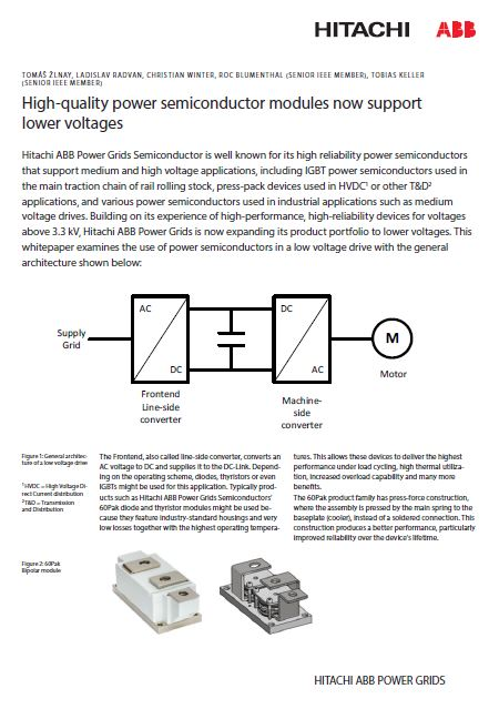 Paper - High-quality power semiconductor modules now support lower voltages.Seite 1.JPG